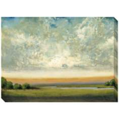 "Good Earth II Indoor/Outdoor 48"" Wide Wall Art"