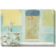 "Sunny Sidewalk Giclee Print Indoor/Outdoor 48"" Wide Wall Art"