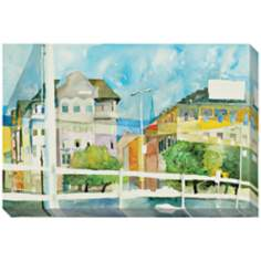"Boulevard Giclee Print Indoor/Outdoor 48"" Wide Wall Art"