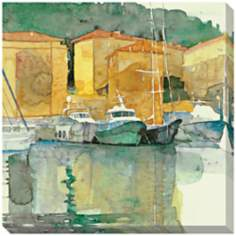 "Still Harbor Giclee Print Indoor/Outdoor 40"" Wide Wall  Art"