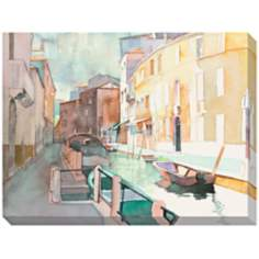 "Venetian I Giclee Print Indoor/Outdoor 48"" Wide Wall Art"
