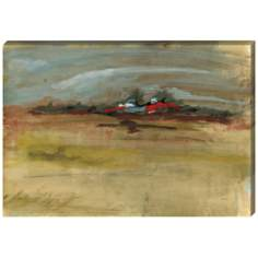 "Landscape Study I Giclee Indoor/Outdoor 48"" High Wall Art"