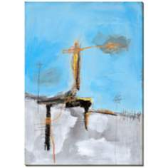 "Blue Sky I Giclee Print Indoor/Outdoor 48"" High Wall Art"