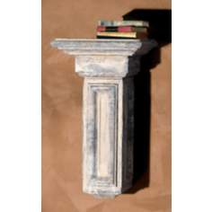 Mission Torch Faux Stone Finish Shelf