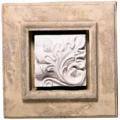 Shadow Box II Faux Stone Finish Wall Decor
