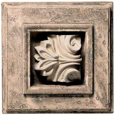 Shadow Box II Faux Stone Finish Wall Art