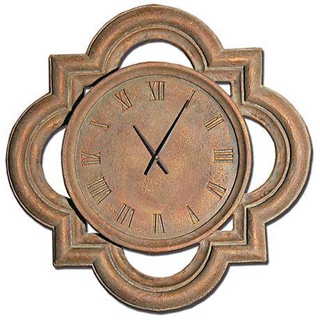 "Windsor 26"" Wide Battery Powered Wall Clock"