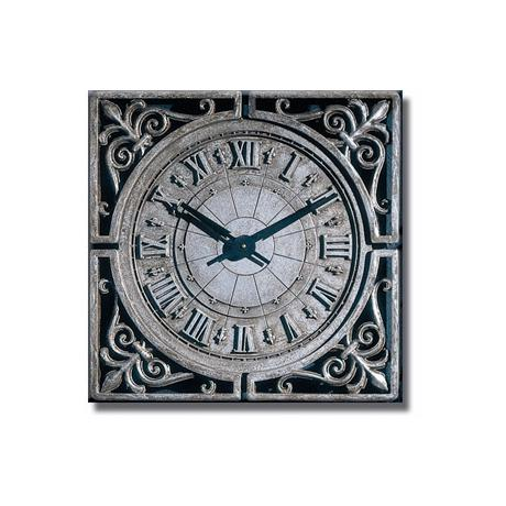 "New Orleans French Quarter 22"" Wide Square Wall Clock"