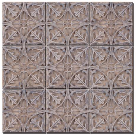 "Pontalba Plaque 18"" Square Wall Art"
