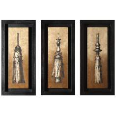Set of 3 Sienna Shadowbox Wall Art Pieces