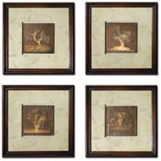 Set of 4 Pembroke Wall Art Panels