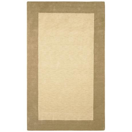 Auckland Collection Oatmeal Wool Area Rug