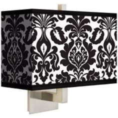 Stacy Garcia Metropolitan Rectangular Giclee Shade Wall Sconce