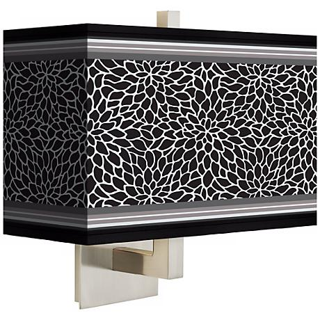 Stacy Garcia Metropolitan Dahlia Rectangular Shade Wall Sconce