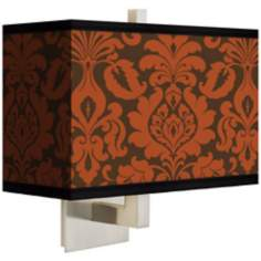 Stacy Garcia Spice Florence Rectangular Shade Wall Sconce
