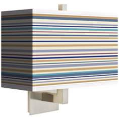 Stacy Garcia Landscape Stripe Rectangular Shade Wall Sconce