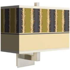 Stacy Garcia Lexington Stripe Avocado Rectangular Wall Sconce