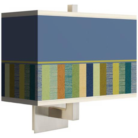 Stacy Garcia Modern Palette Rectangular Shade Wall Sconce