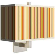 Stacy Garcia Vertical Lemongrass Rectangular Shade Wall Sconce