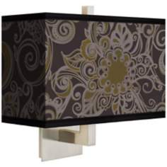 Stacy Garcia Ornament Metal Rectangular Shade Wall Sconce