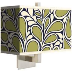 Stacy Garcia Rain Metal Rectangular Shade Wall Sconce