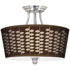 Hi Fi Tapered Drum Giclee Ceiling Light