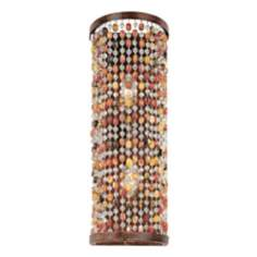 "Karma Glass Beads 18"" Wall Sconce"