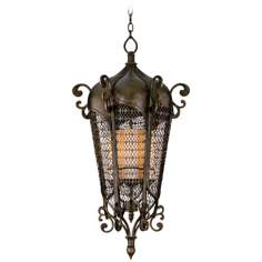 "Tangiers 38"" High Outdoor Hanging Lantern"