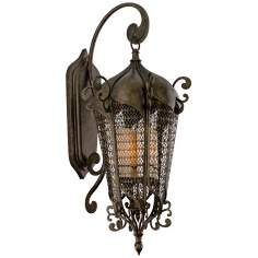 "Tangiers 42 1/2"" High Outdoor Wall Lantern"