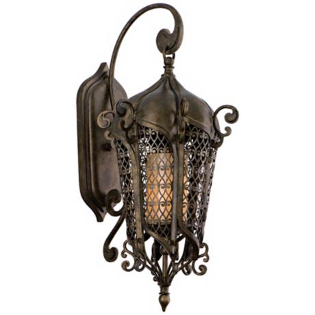 "Tangiers 22 3/4"" High Outdoor Wall Lantern"