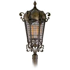 "Tangiers 36"" High Outdoor Post Mount Lantern"