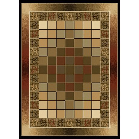 Pixelation Contemporary Area Rug