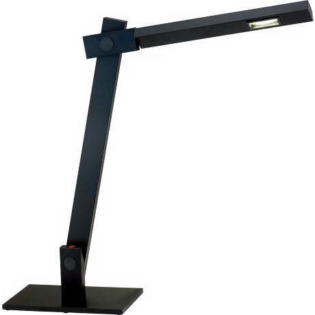 Reach Black LED Adjustable Desk Lamp