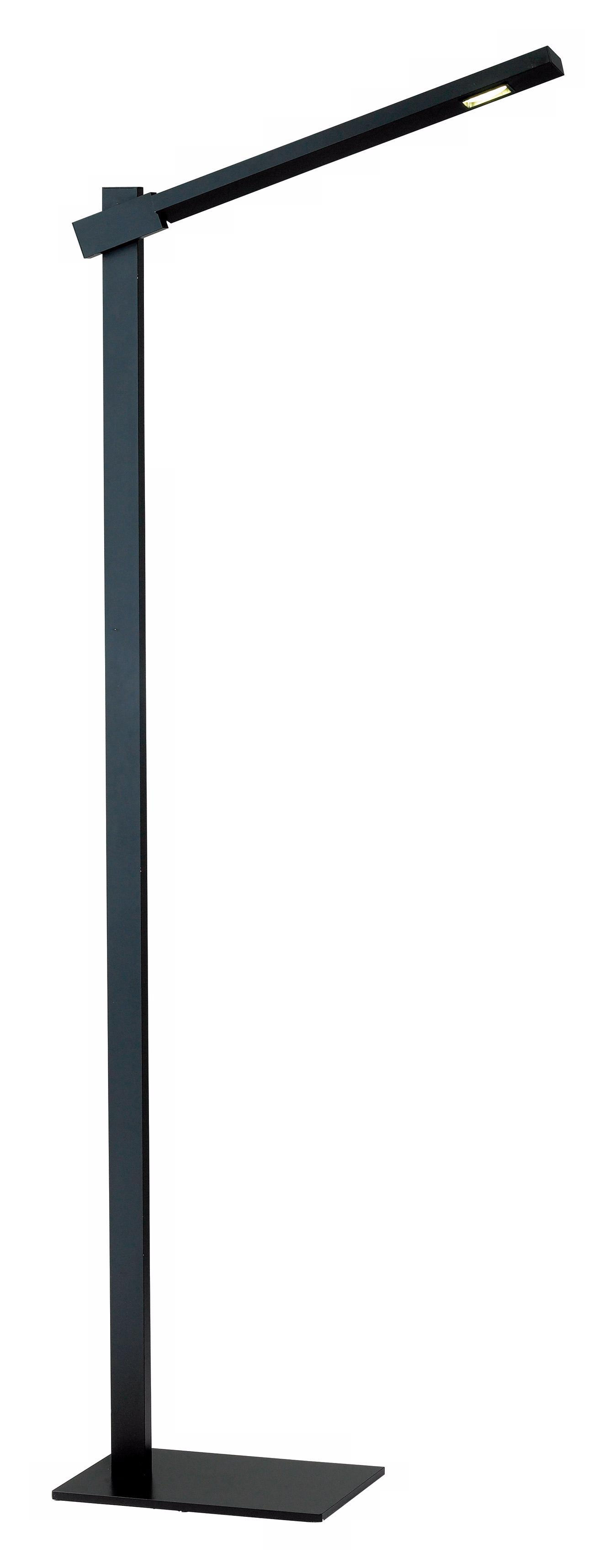 Reach Black LED Adjustable Floor Lamp (M1249)