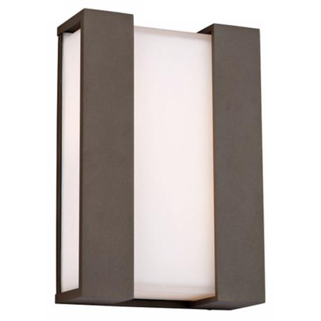 "Newport Collection Bronze 19"" High Outdoor Wall Light"