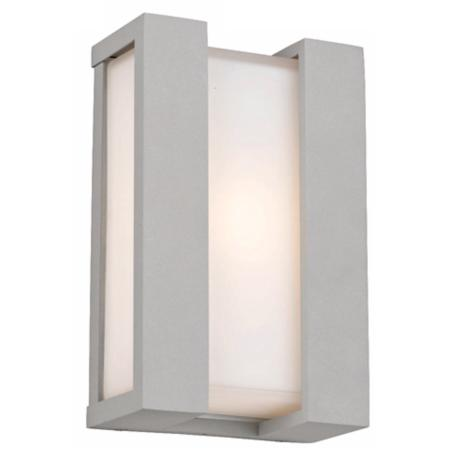 "Newport Collection Graphite 11"" High Outdoor Wall Light"