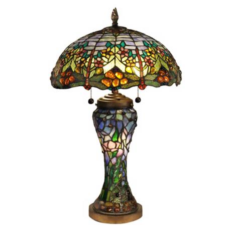 Dale Tiffany Atticus Art Glass Table Lamp