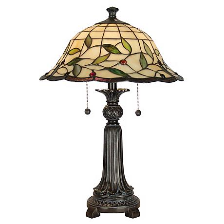 Dale Tiffany Donavan Art Glass Table Lamp