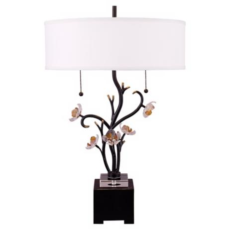 Dale Tiffany Sara Bay Lead Crystal Table Lamp