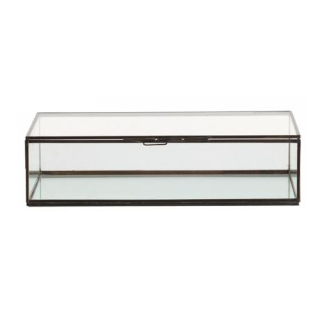 Fuller Clear Glass Document Box