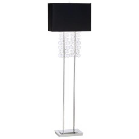 Possini Euro Design Bubble Cascade Floor Lamp