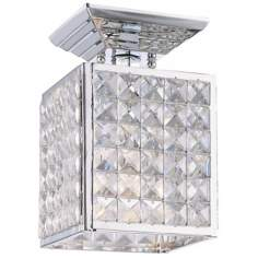 "Crystorama Majestic Collection 5 1/2"" Wide Ceiling Light"