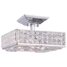 "Crystorama Majestic Collection 14"" Wide Ceiling Light"