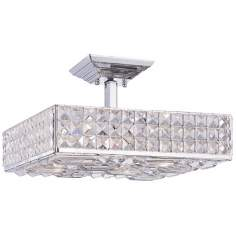 "Crystorama Majestic Collection 10 1/2"" Wide Ceiling Light"