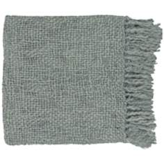 Tobias Collection Gray Throw