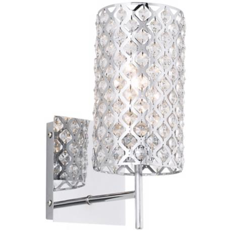 Possini Euro Deisgn Glitz 12 1 2 Quot High Wall Sconce
