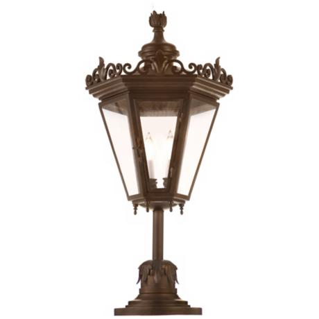 "Varaluz Corsica Collection 28"" High Outdoor Post Light"