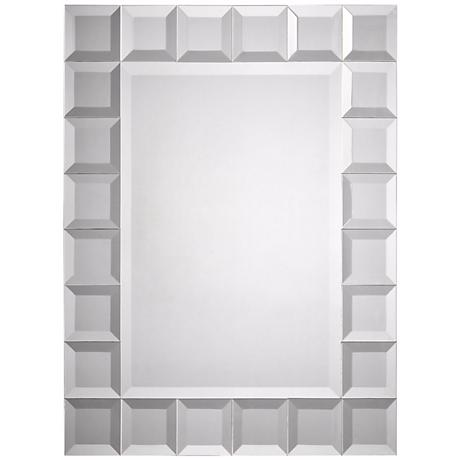 "Square Cut Trim 32"" High Wall Mirror"
