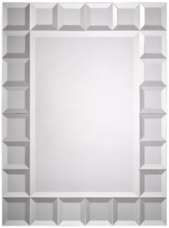 "square cut trim 32"" high wall mirror (m3562)"