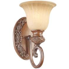 "Kathy Ireland Sterling Estate 12""High Wall Sconce"